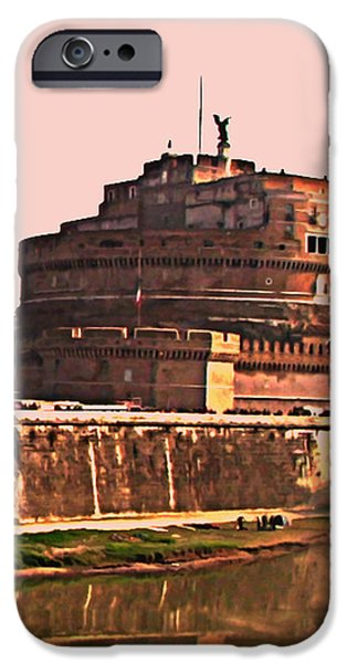Castel Sant 'Angelo iPhone Case by BRIAN REAVES