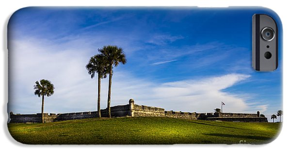 San Marco iPhone Cases - Castillo De San Marcos iPhone Case by Marvin Spates