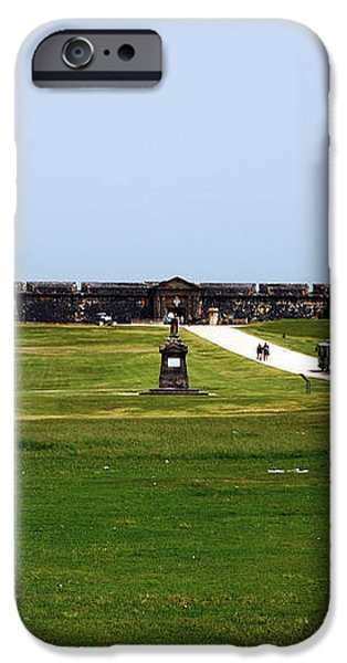 Castillo San Felipe del Morro iPhone Case by John Rizzuto