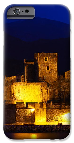 Languedoc iPhone Cases - Castle At The Waterfront, Chateau iPhone Case by Panoramic Images