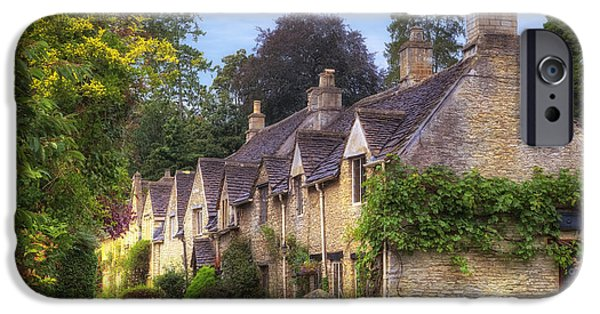 Wiltshire iPhone Cases - Castle Combe iPhone Case by Joana Kruse