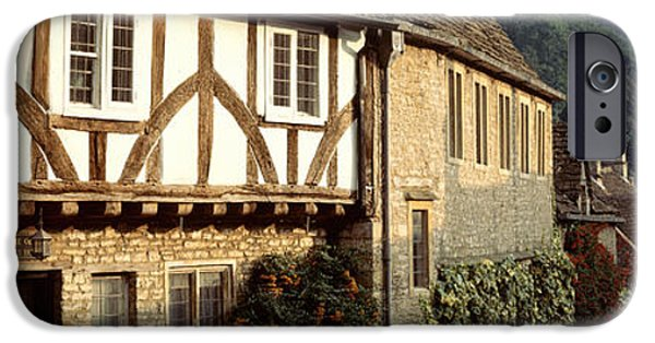 Wiltshire iPhone Cases - Castle Combe, Wiltshire, England iPhone Case by Panoramic Images