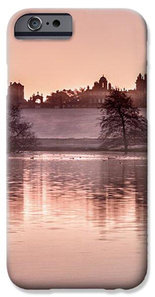 Castle Howard Dawn iPhone Case by Janet Burdon