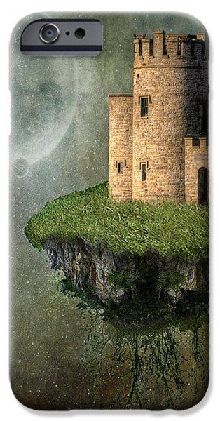 Castle in the Sky iPhone Case by Juli Scalzi
