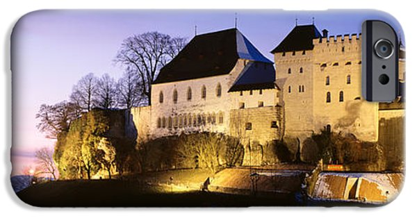 11th iPhone Cases - Castle Lenzburg, Switzerland iPhone Case by Panoramic Images