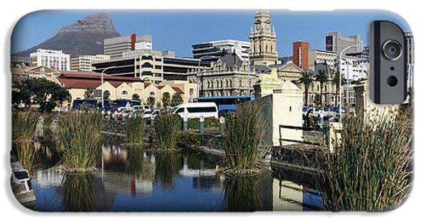 Cape Town iPhone Cases - Castle Of Good Hope With A View iPhone Case by Panoramic Images
