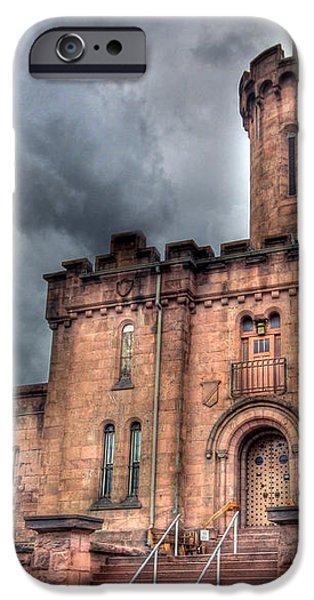 Castle of Solitude iPhone Case by Lori Deiter