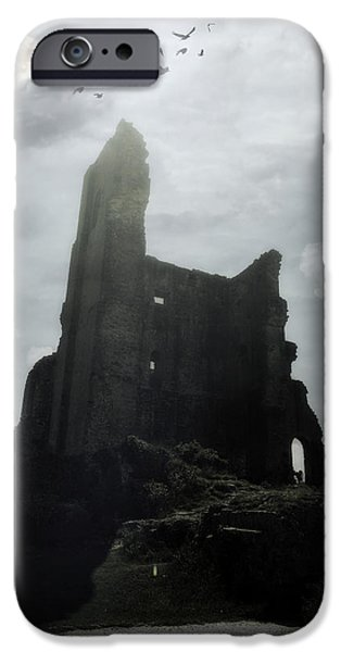 Ruin iPhone Cases - Castle Ruin iPhone Case by Joana Kruse