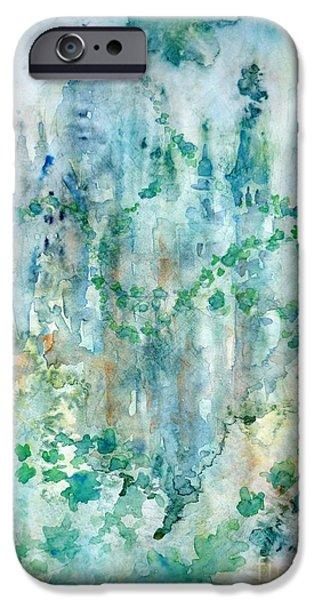 Castle iPhone Case by Zaira Dzhaubaeva