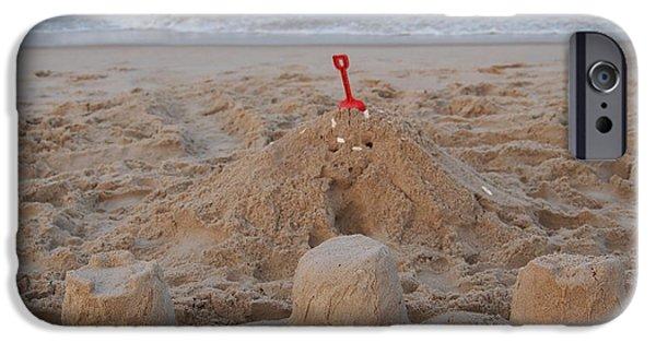 Sand Castles iPhone Cases - Castles iPhone Case by Jennifer Craft