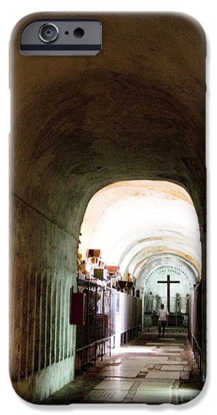 Catacombs in Palermo iPhone Case by David Smith