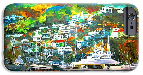 California Tourist Spots iPhone Cases - Catalina Island 3 iPhone Case by Romy Galicia