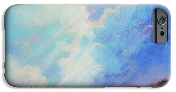 Sky Ceramics iPhone Cases - Catch The Light iPhone Case by Celine  K Yong