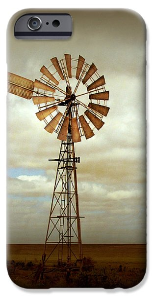 Windmills iPhone Cases - Catch the Wind iPhone Case by Holly Kempe