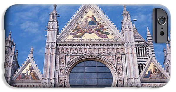 Sienna iPhone Cases - Catedrale Di Santa Maria, Sienna, Italy iPhone Case by Panoramic Images