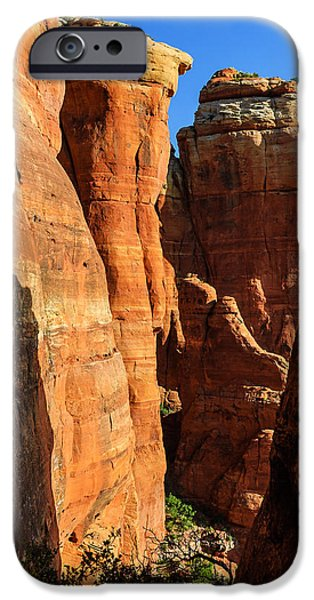 Cathedral Rock iPhone Cases - Cathedral 05-127 iPhone Case by Scott McAllister