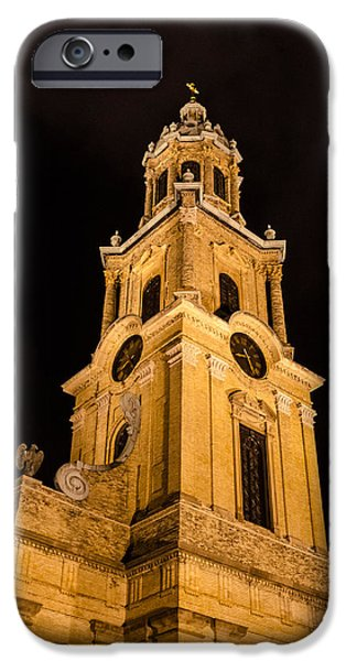 St John The Evangelist iPhone Cases - Cathedral of St. John the Evangelist  1 iPhone Case by Susan  McMenamin
