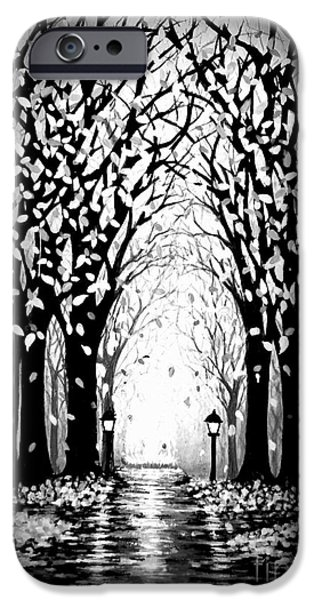 Celebrate Mixed Media iPhone Cases - Cathedral Park iPhone Case by Janine Riley