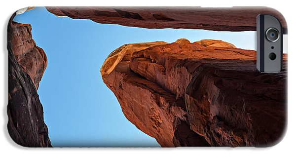 Cathedral Rock Digital Art iPhone Cases - Cathedral Rock 04-032 iPhone Case by Scott McAllister