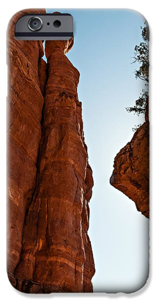 Cathedral Rock iPhone Cases - Cathedral Rock 04-055 iPhone Case by Scott McAllister