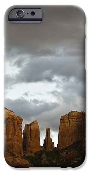 Cathedral Rock iPhone Case by David Gordon