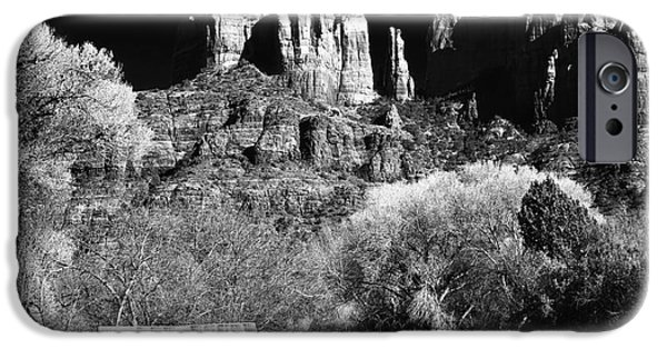 Cathedral Rock iPhone Cases - Cathedral Rock iPhone Case by John Rizzuto