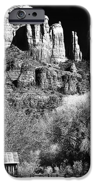 Cathedral Rock iPhone Case by John Rizzuto