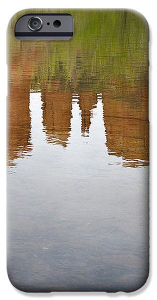 Cathedral Rock Reflections iPhone Case by Dave Gordon