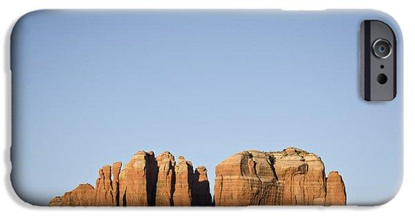 Oak Creek iPhone Cases - Cathedral Rock VI iPhone Case by David Gordon