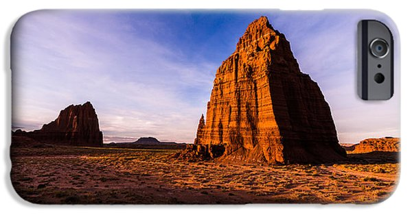 Capitol iPhone Cases - Cathedral Temples iPhone Case by Chad Dutson