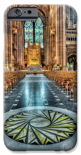 Balcony iPhone Cases - Cathedral Way iPhone Case by Adrian Evans
