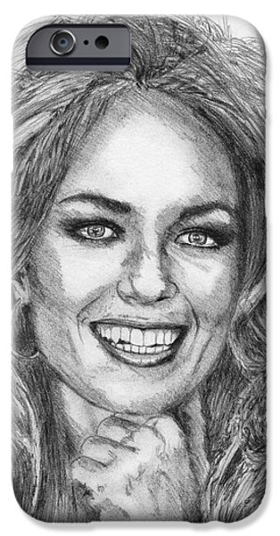 Catherine Bach in 1979 iPhone Case by J McCombie