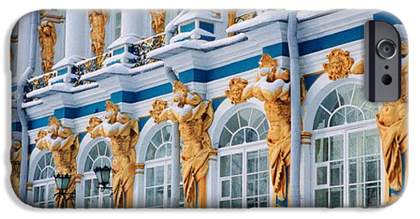 Palatial iPhone Cases - Catherine Palace Pushkin Russia iPhone Case by Panoramic Images