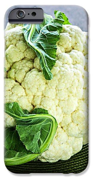 Cauliflower iPhone Case by Elena Elisseeva