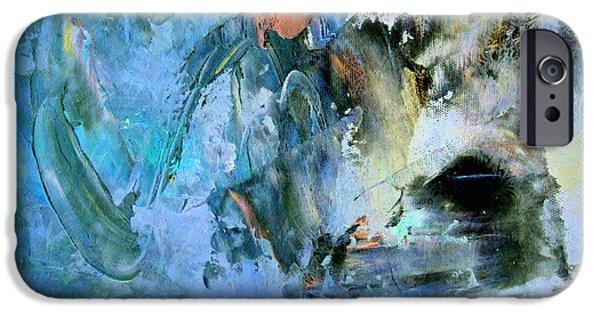 Zeana Romanovna iPhone Cases - Cave Of Depression iPhone Case by Georgiana Romanovna
