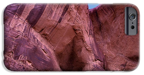 Cavern iPhone Cases - Cavern Hole iPhone Case by Garry Gay