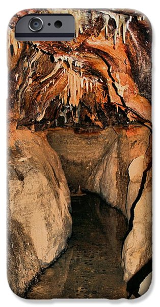 Cavern Path iPhone Case by Dan Sproul