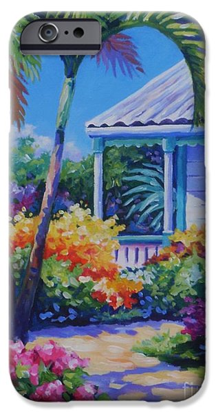 Cuba iPhone Cases - Cayman Yard iPhone Case by John Clark