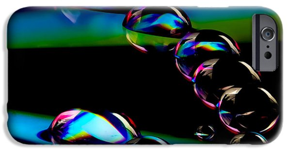 Creative Manipulation iPhone Cases - CD Lineup iPhone Case by Jean Noren