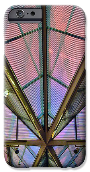 National Gallery Art iPhone Cases - National Gallery of Art East Building iPhone Case by Mitch Cat