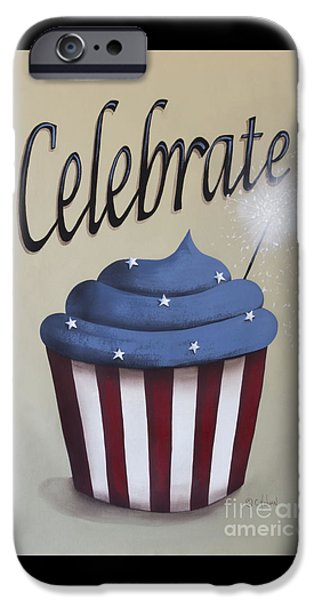 Celebrate the 4th of July iPhone Case by Catherine Holman