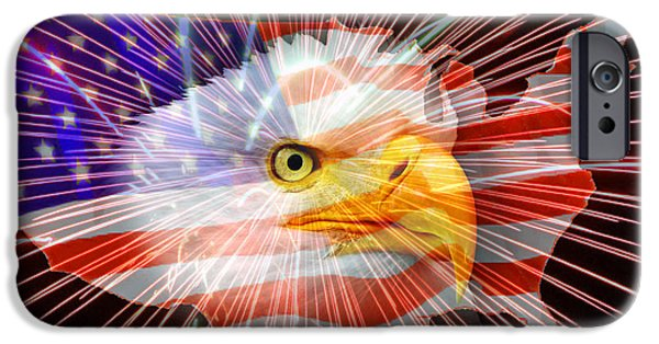Fourth Of July iPhone Cases - Celebrating Independence iPhone Case by Ron Day