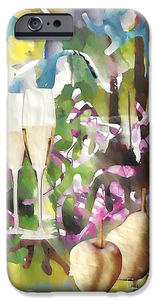 Celebration Mixed Media iPhone Cases - Celebration iPhone Case by Sarah Loft