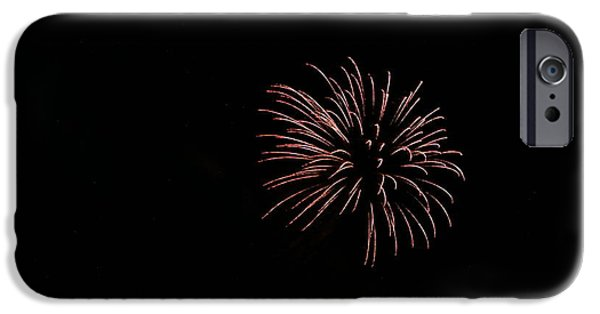 4th Of July iPhone Cases - Celebration XXXIII iPhone Case by Pablo Rosales