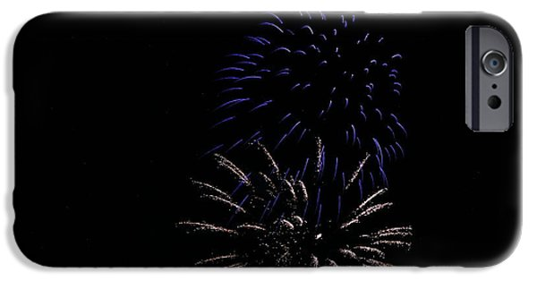 Fireworks iPhone Cases - Celebration XXXIV iPhone Case by Pablo Rosales