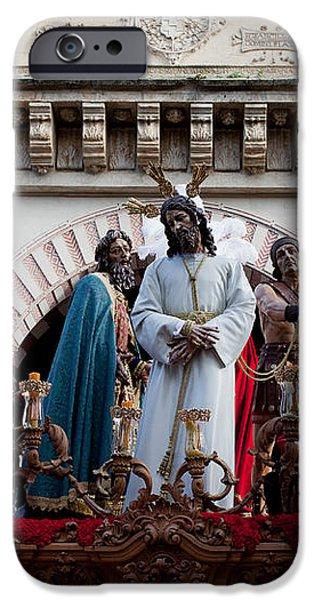 Celebrations on Palm Sunday in Cordoba iPhone Case by Artur Bogacki