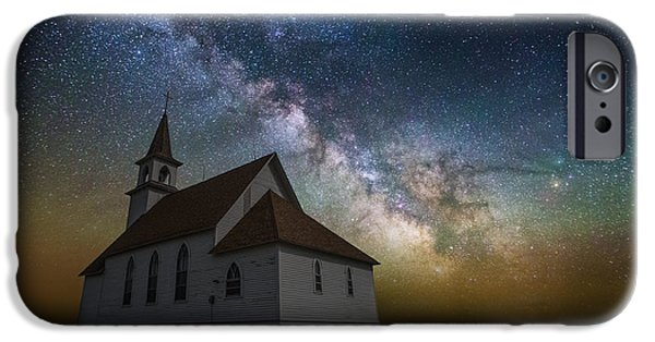 Rift iPhone Cases - Celestial iPhone Case by Aaron J Groen