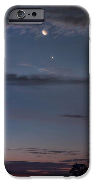 Constellations iPhone Cases - Celestial Dance iPhone Case by Bill  Wakeley