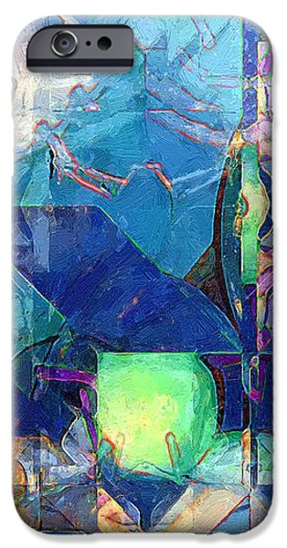 Celestial Sea iPhone Case by RC DeWinter