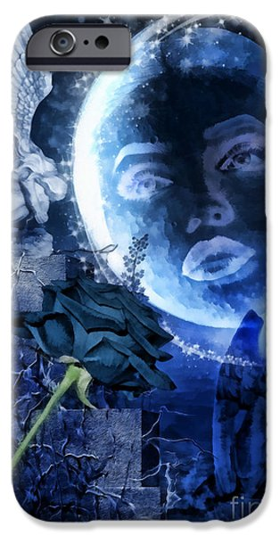 Celestine iPhone Case by Mo T